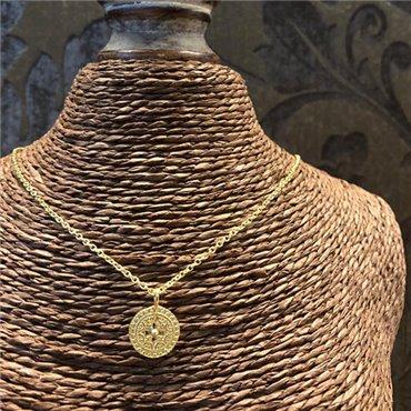 <p>Halskette Silber vergoldet</p>