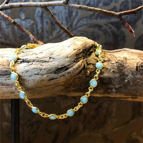 <p>Armkette Silber vergoldet </p>